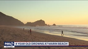 4-year-old girl drowns at Point Reyes National Seashore
