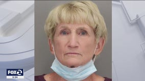 Elderly woman pretended to be victim of assault; arrested on arson and embezzlement charges