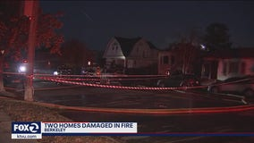 Two Berkeley homes damaged in early morning fire