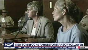 Governor nixes parole for Manson follower Leslie Van Houten