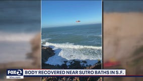 Body recovered near Sutro Baths in San Francisco