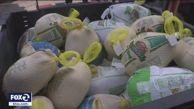 Sacred Heart's Thanksgiving food distribution faces challenges with increased demand, fewer volunteers