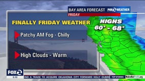 Patchy morning fog, chilly
