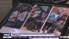 2 teenage brothers killed in Sacramento mall shooting; gunman at large