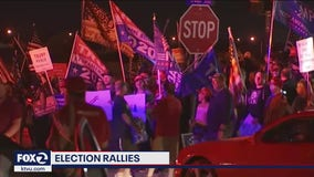 Protests erupt around the country as ballots continue to be counted