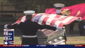 WWII Veteran laid to rest at home in San Mateo after 77 years