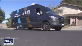 East Bay man converts Sprinter van into mobile barber shop