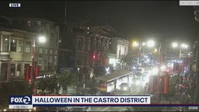 Halloween draws a crowd to San Francisco's Castro District