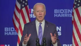 Biden projects with confidence he'll win the White House