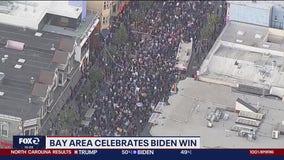 Bay Area celebrates Biden win