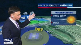 Dry pattern continues, partly sunny