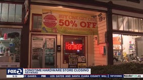 Another victim of the pandemic: Hayward Hardware store closing
