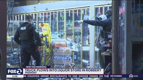 Robbers drive truck through Fremont store, steal lottery tickets