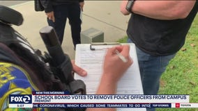 Fremont Unified board votes narrowly to end school resource officer program