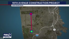 Major renovations to 19th Avenue in San Francisco start Monday