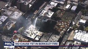 Fire at Berkeley construction site still flaring up