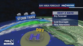 WEATHER FORECAST: Chilly overnight temps, dry for the next few days