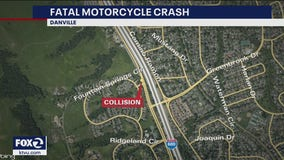 Motorcyclist dies after collision with bicycle in Danville