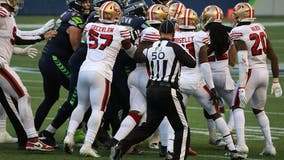 Big days from Wilson, Metcalf lead Seahawks past 49ers 37-27