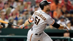 Former Giants outfielder Mac Williamson sues club over concussion