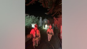 Residents safely evacuated from Los Gatos house fire