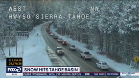 Cold snap arrives in California! Chilly records set, snow falls in Sierra