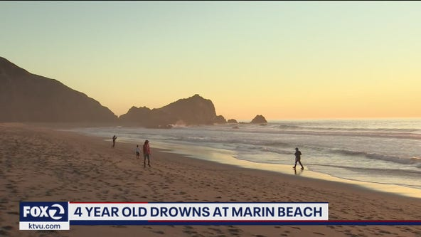 4-year-old girl drowns at Point Reyes National Seashore