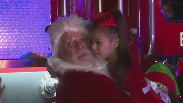 A 6-year-old Fresno girl with terminal cancer treated to early Christmas