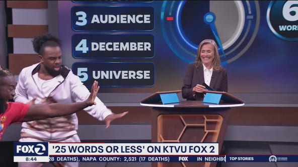 Meredith Vieira talks about '25 Words Or Less'