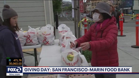 SF-Marin Food Bank sees widespread hunger around Thanksgiving