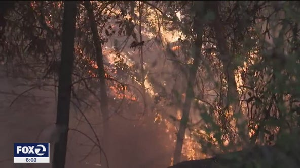 Rainy season poses threat to Bay Area wildfire burn areas