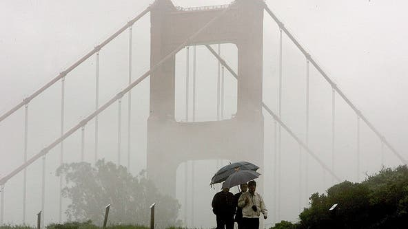 Series of much-needed winter storms moving through the Bay Area