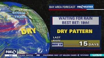 Dry pattern persists