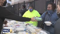 South Bay non-profit distributes Christmas meals to South Bay homeless