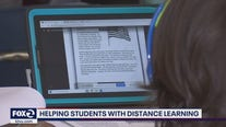 Audio books help students with distance learning