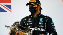 Auto racing champion Lewis Hamilton tests positive for COVID-19