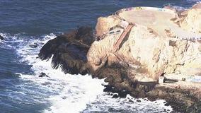 Cliff rescue underway near Fort Funston in San Francisco
