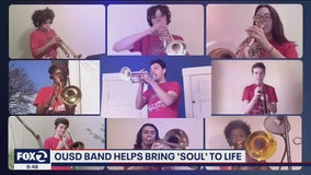 Oakland middle school band plays in Pixar's 'Soul'