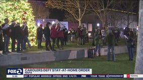 'God given right:' Christmas carolers in California defy orders, sing without masks