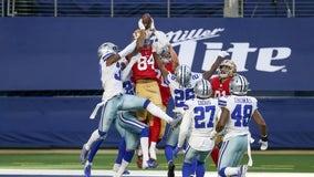 Pollard scores 2 with Elliott out, Cowboys beat 49ers 41-33