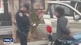 Mother upset after Hayward officers arrest her son without wearing masks