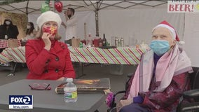 'Christmas in the Parking Lot' lifts South Bay seniors' spirits