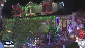 San Ramon neighborhood spreads holiday cheer with spectacular display of light and sound
