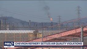 Chevron refinery settles air quality violations