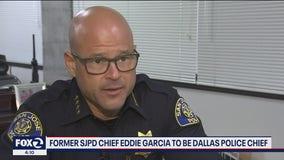 Former SJPD Chief Eddie Garcia to be Dallas police chief
