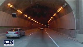 Overnight closures scheduled for maintenance work on Caldecott Tunnel