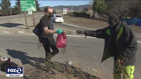 Richmond man hands out gift bags to homeless