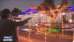 Santa Rosa home brighter than ever after 'Grinch' stole Christmas decorations