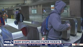 BART stops selling paper tickets