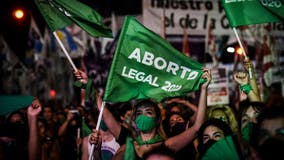 Bill legalizing abortion passes in Pope Francis' native Argentina